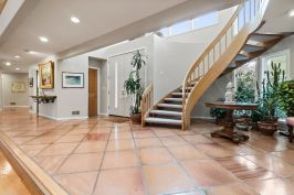 Staircase next to Entry